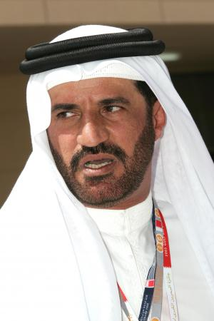 Multi Middle East Rally champion Mohammad bin Sulayem visits the Bahrain F1 GP