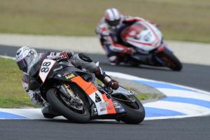 Pitt, Australian WSBK Race 1 2010