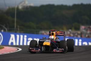 Vettel takes top spot in Suzuka Sunday supplement
