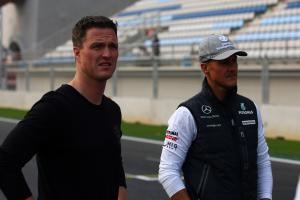 Thursday, Ralf Schumacher (GER) and Michael Schumacher (GER), Mercedes GP  F1 Team, MGP W01