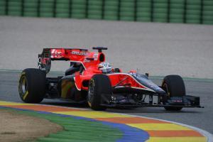 Timo Glock (GER), Marussia Virgin Racing  in last years car