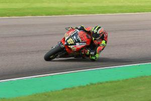 Byrne hails 'best Friday' to go top at Assen