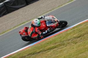 Irwin tops damp FP3 at Silverstone