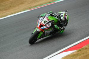 Haslam: We've definitely made a step at Brands Hatch