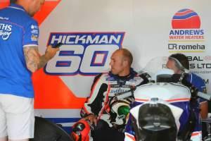 Hickman taken to hospital with illness