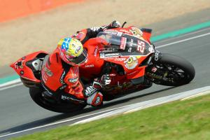 Brookes quickest in red flag strewn FP1 session