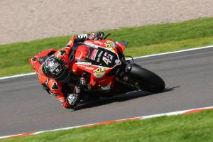 Redding opens up top in Donington BSB FP1