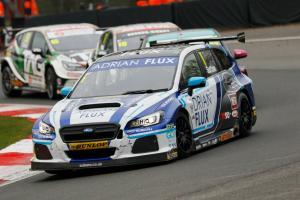 Sutton quickest for Subaru at Thruxton test