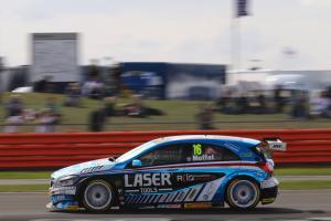 Moffat wins classic reverse grid Silverstone race