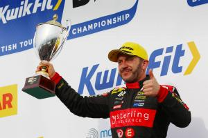 Collard pleased to silence critics after podium finish