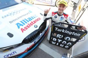 Turkington 'very proud' of historic 50th BTCC win