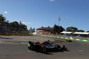 F1 GP Australia - Grid Awal