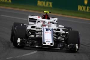 Leclerc: Sauber 'maximised potential' for P13 in Australia