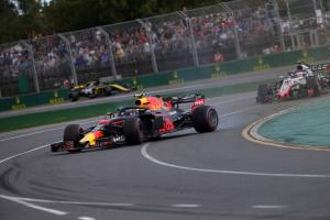 Verstappen happy with points after wild Australian GP