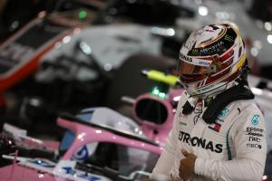 "Hamilton bemoans ""frustrating"" Bahrain GP for damage limitation"