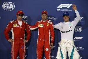 F1 Bahrain GP - Starting Grid