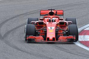 Vettel leads China FP3 as Ricciardo suffers engine failure