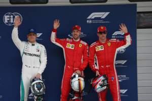 Vettel surprised but wary of Ferrari's gap on Mercedes
