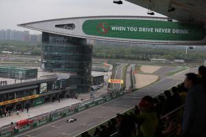 F1 Chinese GP - Starting Grid