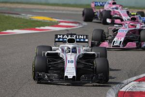 "Williams ""in the race again"" in Chinese GP"