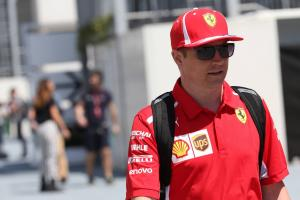 Raikkonen: Surprise if Ferrari not at front at Azerbaijan GP