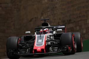 Grosjean picks up gearbox penalty for Azerbaijan GP