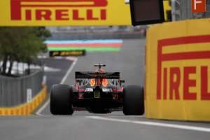 Ricciardo shrugs off favourite tag for Azerbaijan GP