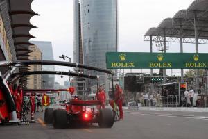 F1 Azerbaijan GP - Starting Grid