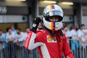 "Vettel hangs on to pole after ""not perfect"" Q3"