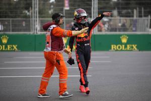 Ricciardo, Verstappen handed reprimands for Baku clash