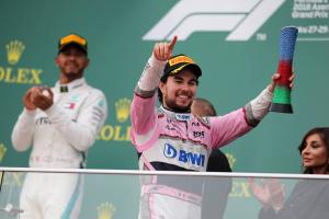 Perez keeps Baku F1 podium after investigation