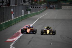 Sainz's fifth helps Renault hunt down McLaren