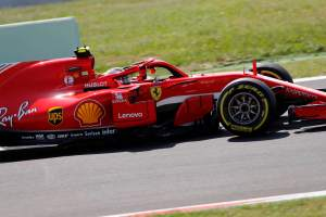 Raikkonen shrugs off Ferrari engine blow