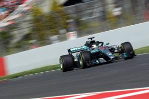 Hamilton leads Mercedes F1 1-2 in final Spanish GP practice