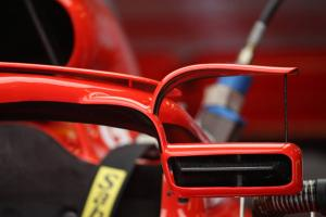 How Ferrari's Halo mirrors could cause another F1 rules headache