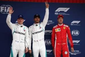 F1 Spanish Grand Prix - Starting Grid