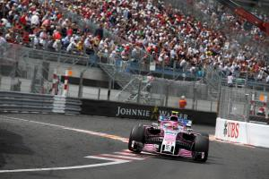 """Ocon """"surprised"""" by Force India pace in closing stages of Monaco GP"""