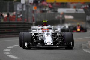 Leclerc a 'passenger' in Hartley crash after brake failure