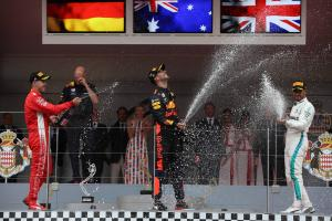 Hamilton: It's definitely a three-way F1 world title fight