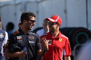 Ricciardo defends Vettel over Brazil F1 weighbridge incident