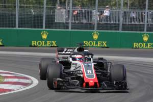 Haas still fast enough to be leading midfield
