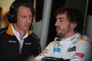 Alonso: McLaren bisa mencetak poin meski kecepatan kualifikasi