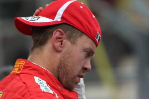 Vettel: My start was too good, Bottas clash my mistake