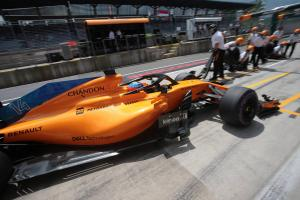 Alonso set for pit lane start in Austria