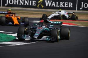 Hamilton vows not to give up after 'huge' British GP fightback