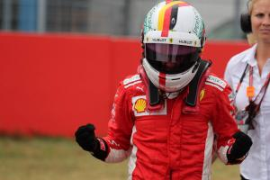 Vettel on German GP pole, Hamilton 14th after car failure