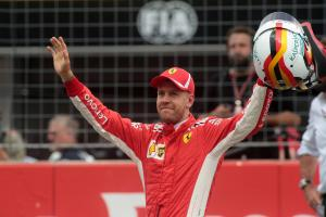 Vettel felt 'free' on German GP F1 pole lap
