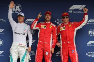 F1 German GP - Starting Grid