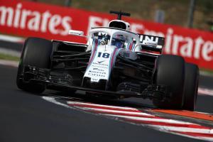Stroll set for pit lane start in Hungary
