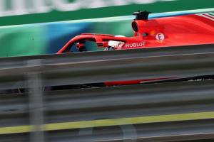 Vettel: Ferrari in control in the dry…